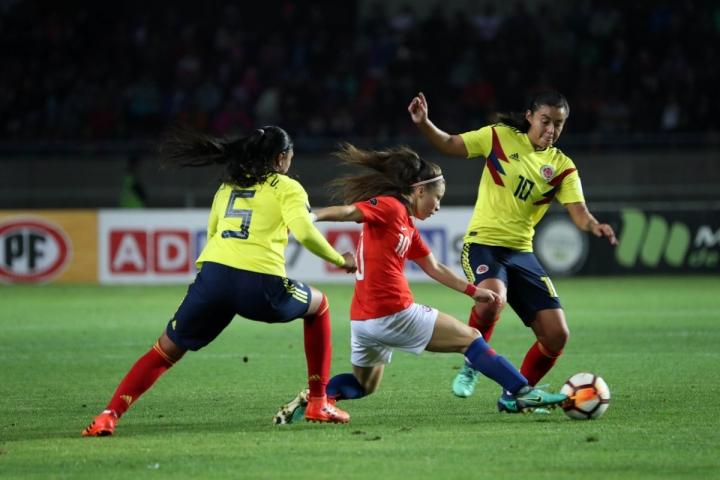 Selección Colombia Femenina en la Copa América de Chile