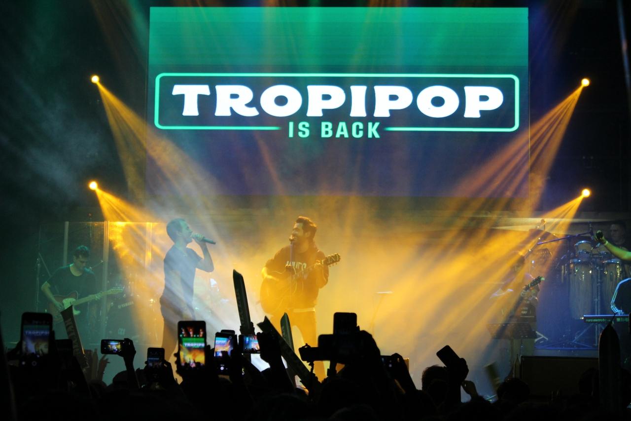 Tropipop is back: el concierto de toda una generación