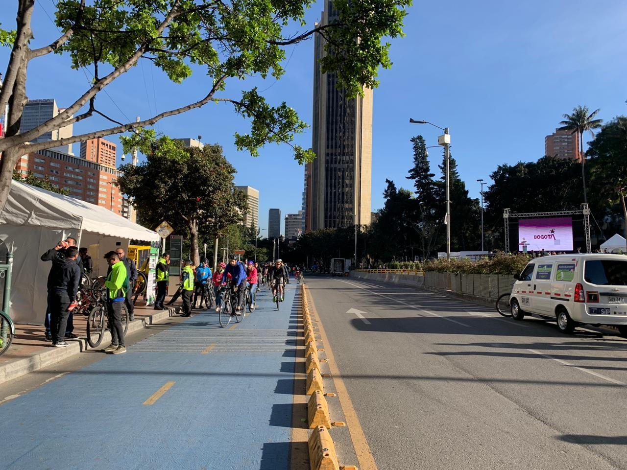 Así vivieron los funcionarios de la Alcaldía Mayor de Bogotá el 'Día sin carro'