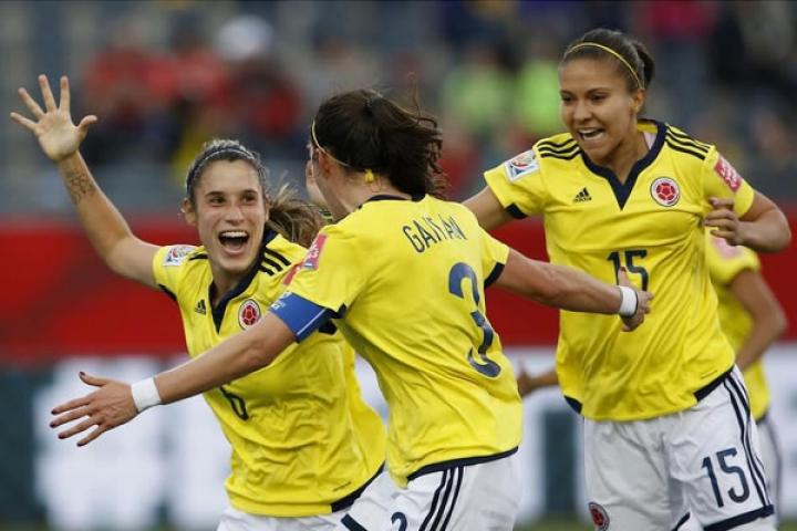 La Selección Colombiana de fútbol femenino.