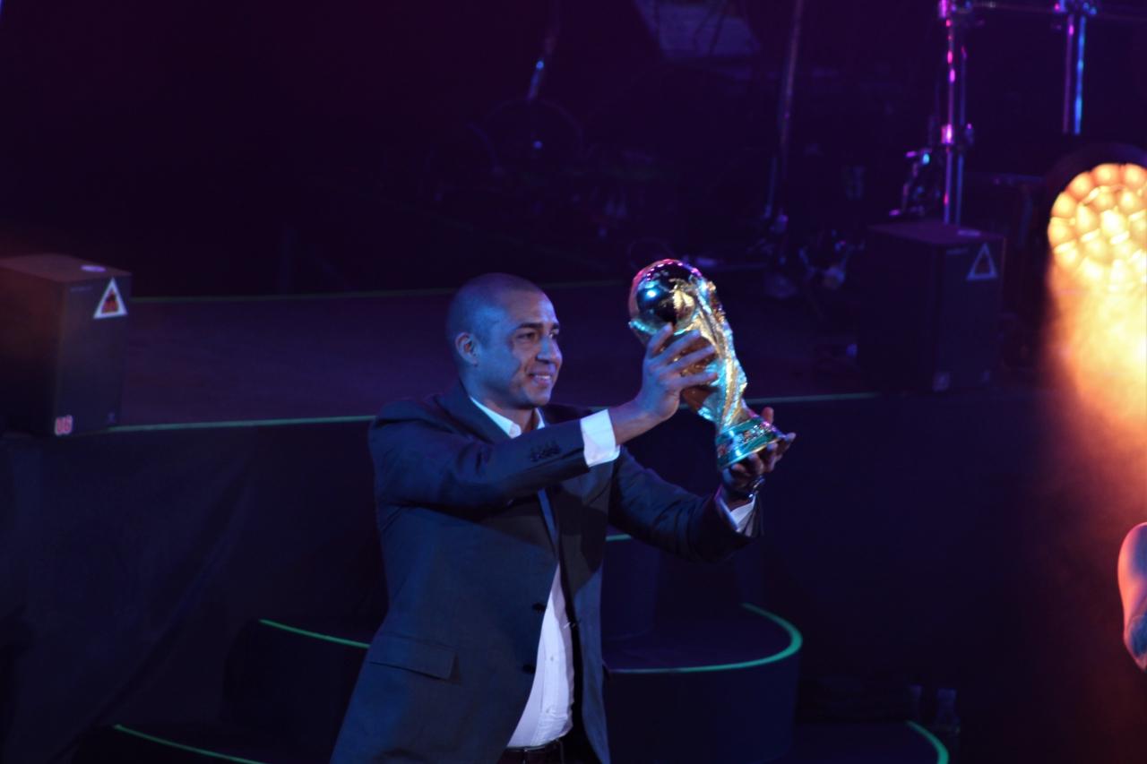 Maluma y Trezeguet despiden la Copa del Mundo en Bogotá