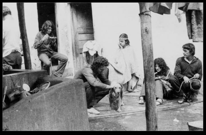 Comuna de hippies en La Calera