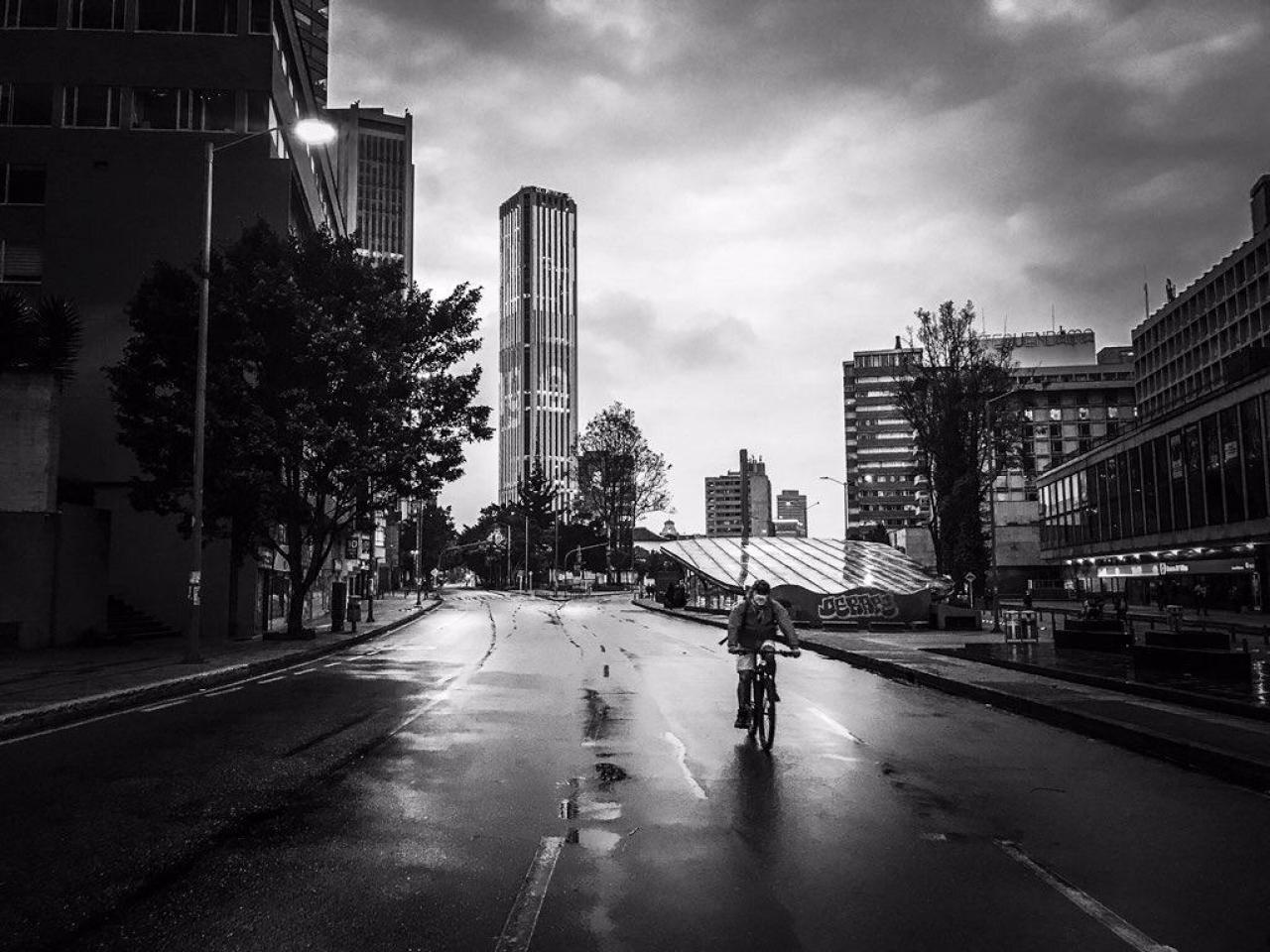 Contrastes de la cuarentena en Bogotá
