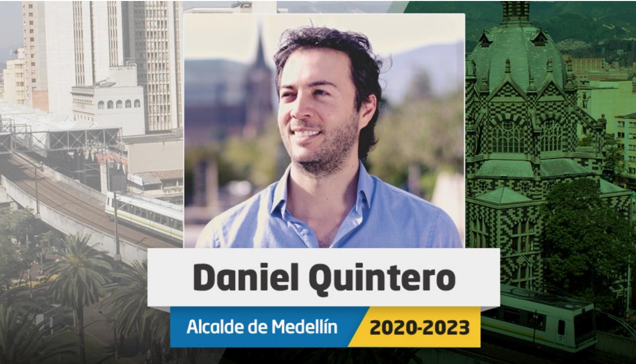 Contra todo pronóstico, Daniel Quintero es el nuevo alcalde de Medellín