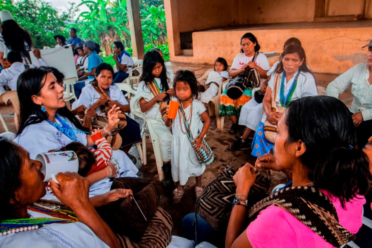 Jóvenes cafeteras arhuacas: semillas protectoras del empoderamiento femenino