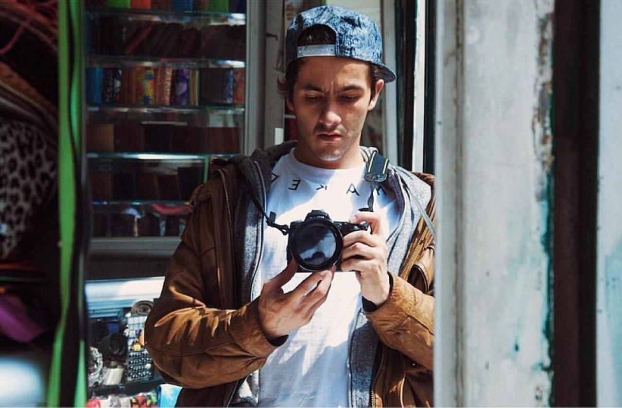 'Mi sueño es fotografiar todas esas realidades de las que está llena el mundo pero que, por primera vez, yo conocí en Bogotá'