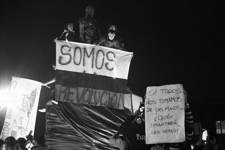 Marchas de estudiantes del mes de noviembre de 2019 en Bogotá