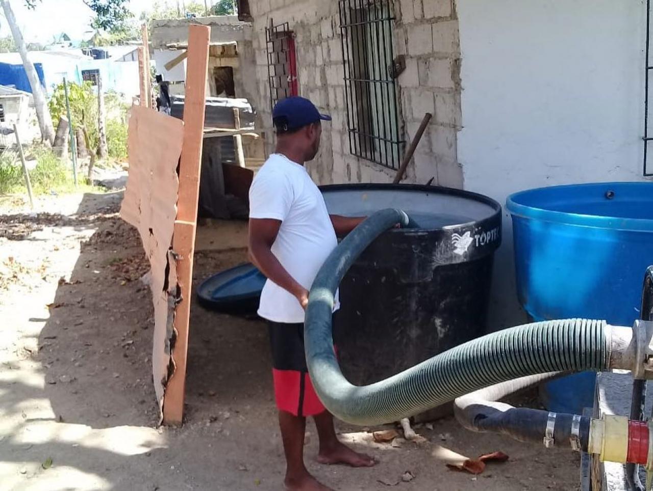 Escasez de agua en pandemia: otros problemas que enfrenta San Andrés