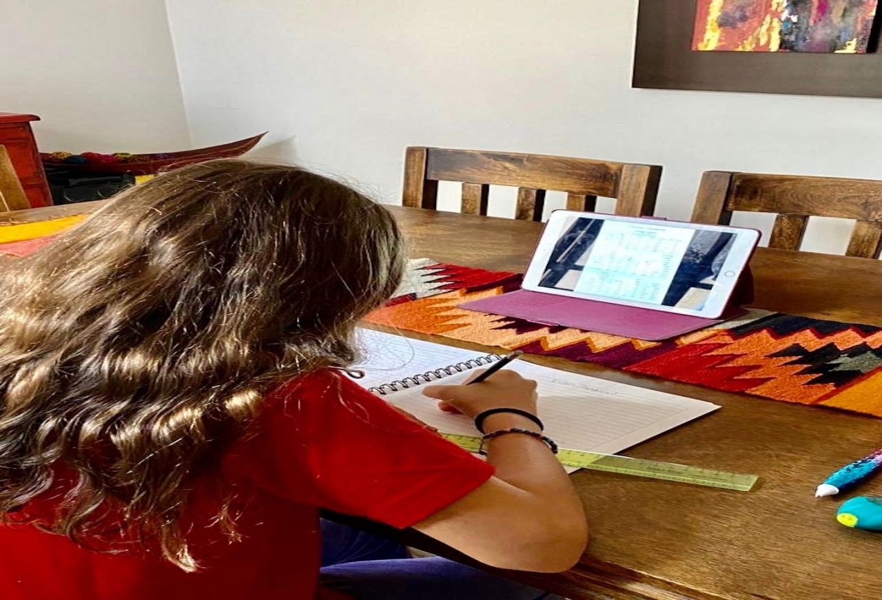 Educación a distancia, un reto para los niños y niñas