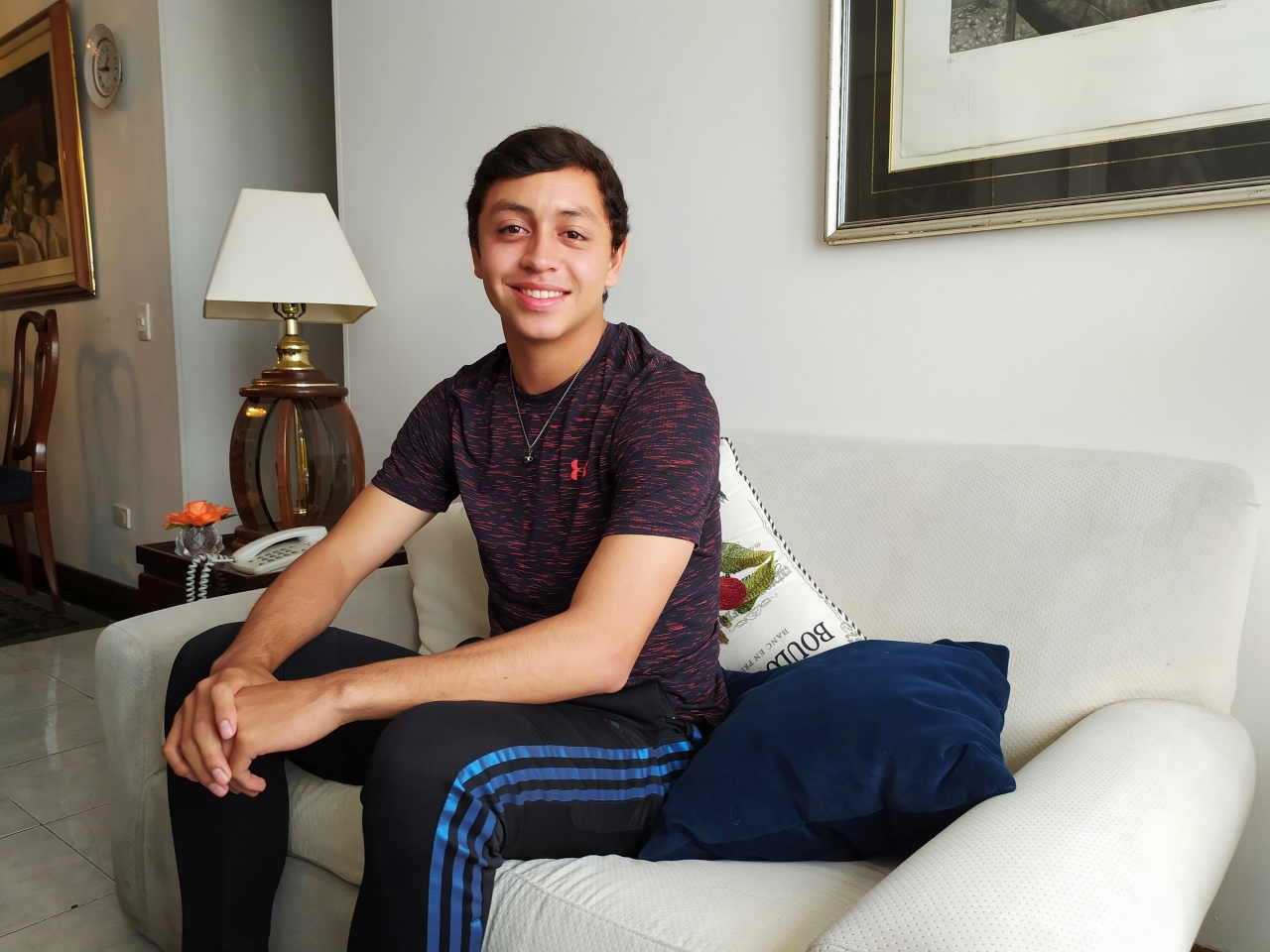 De Estados Unidos a Colombia, el sueño de ser jugador profesional de fútbol