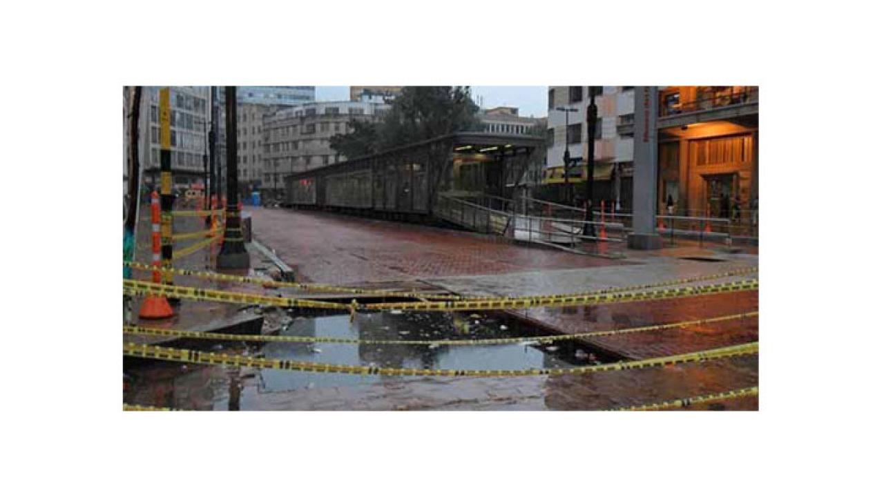 Nuevos retrasos en las obras de TransMilenio del centro