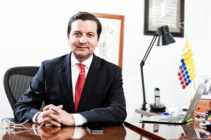 David Luna, exministro de las Tecnologías de la Información y Comunicación.