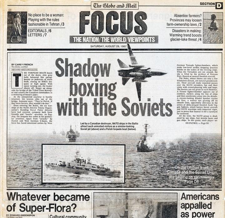 Primera portada de Marc, publicada en agosto de 1987