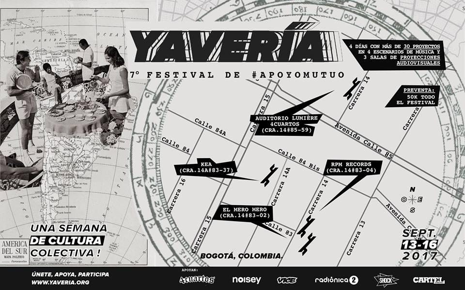 Las razones para no perderse el festival Yavería 2017
