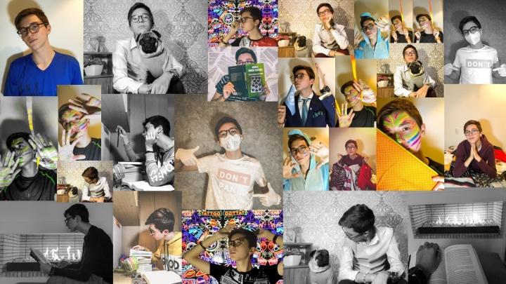Emociones de cuarentena en un solo mural