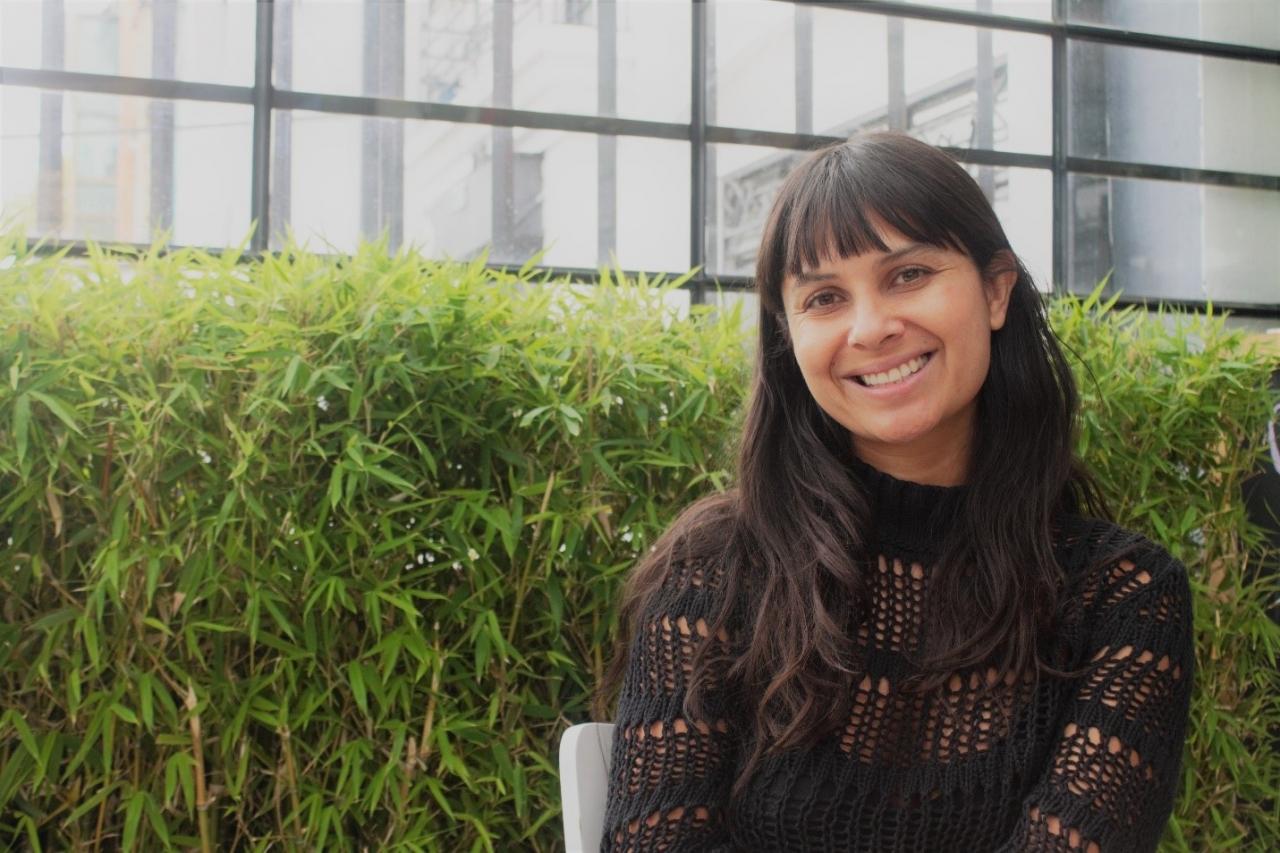 Karen Rodríguez, una mujer con las tetas bien puestas