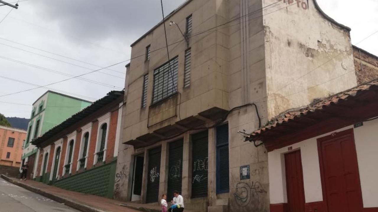 El teatro del reciclaje en La Candelaria
