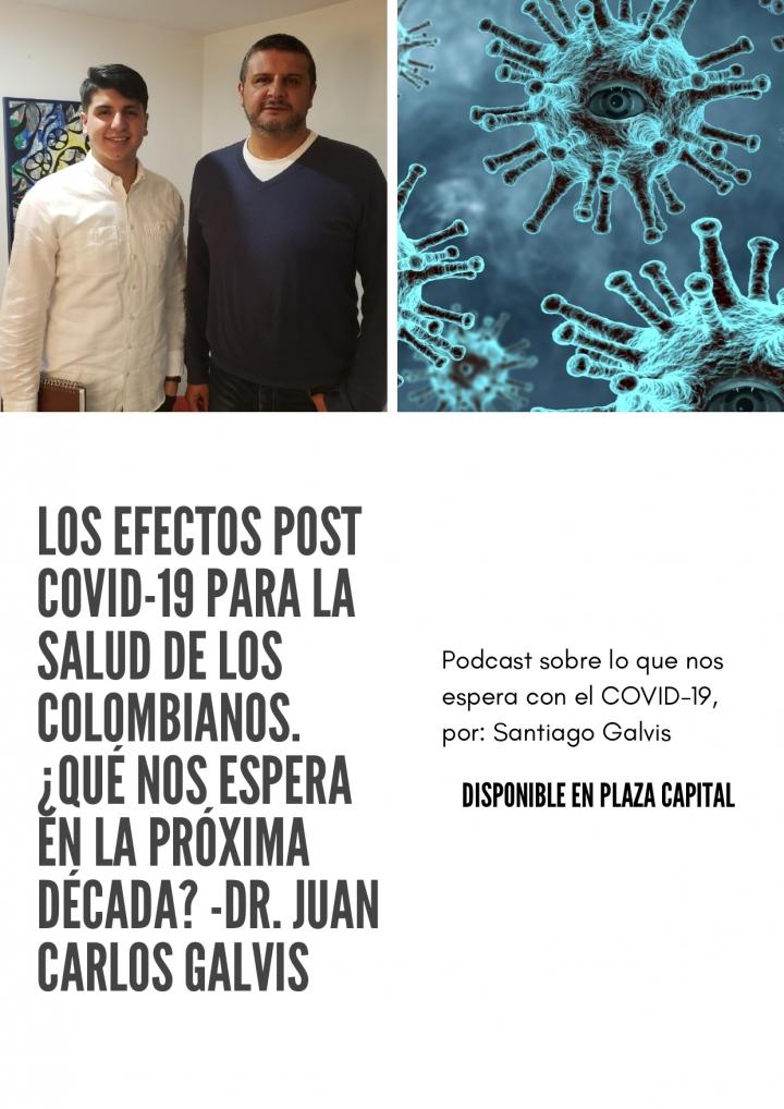 Poscast sobre los efectos de la pandemia en la salud