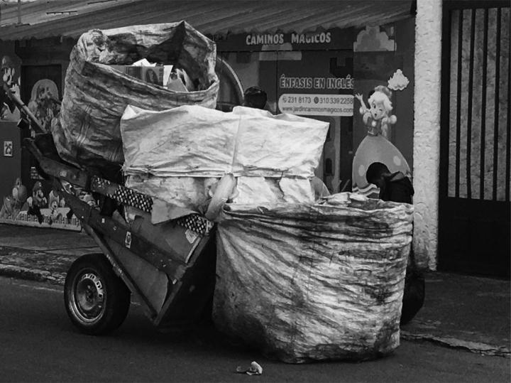 Recicladores en Bogotá