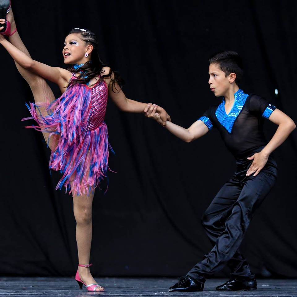 Paula y Mateo Popayán en el World Salsa Summit|||