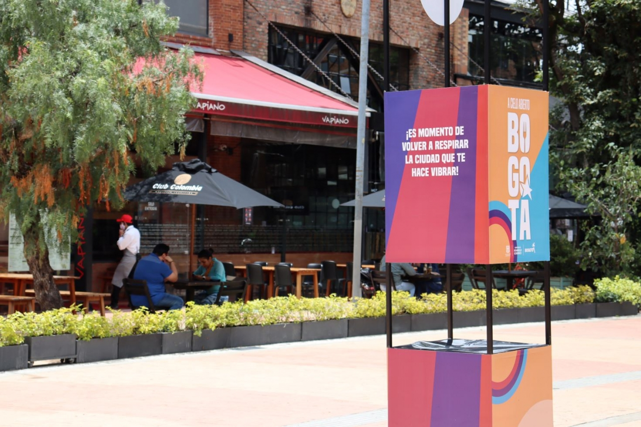 El uso del espacio público es clave en la reactivación del sector gastronómico