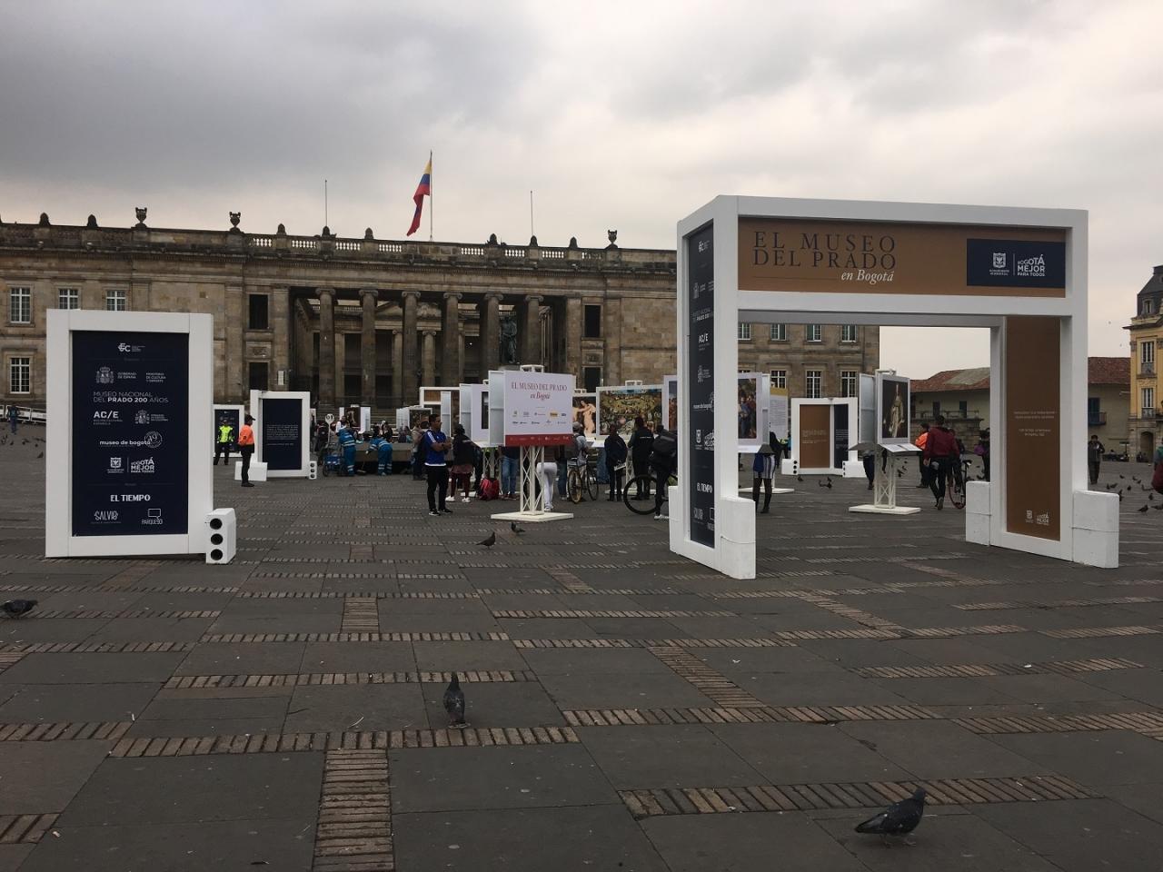 El Museo Nacional del Prado en las calles de Bogotá
