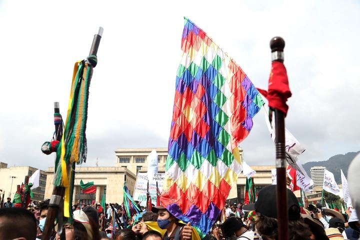 La Minga indígena busca el diálogo con el Gobierno Nacional
