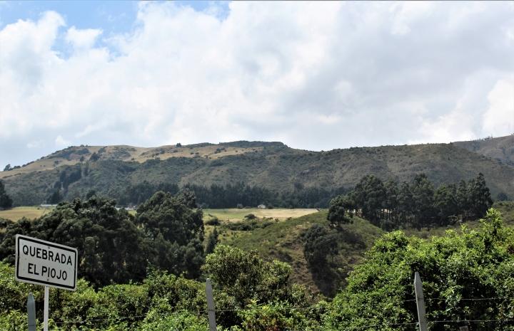 Quebrada El piojo en la localidad de Usme