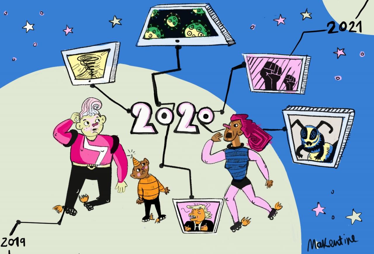 2020, un año que marcará la historia de la humanidad para siempre