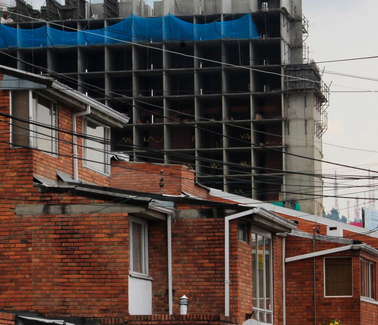 Niza Córdoba, barrio de Bogotá, enfrenta problemas por construcción aledaña