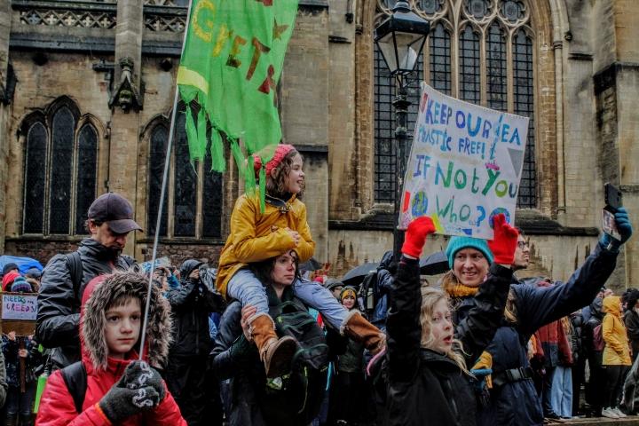 """""""No me quedaré callada mientras el mundo arde"""": Greta Thunberg"""