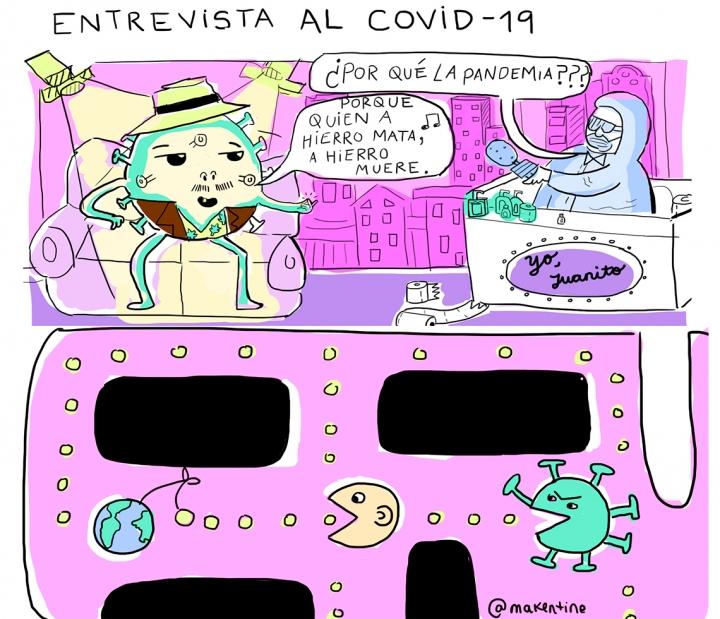Entrevista al COVID-19