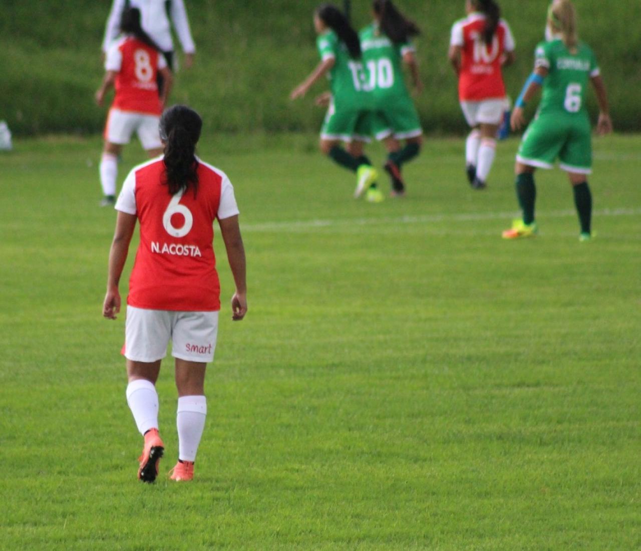 Fútbol femenino Vs pandemia