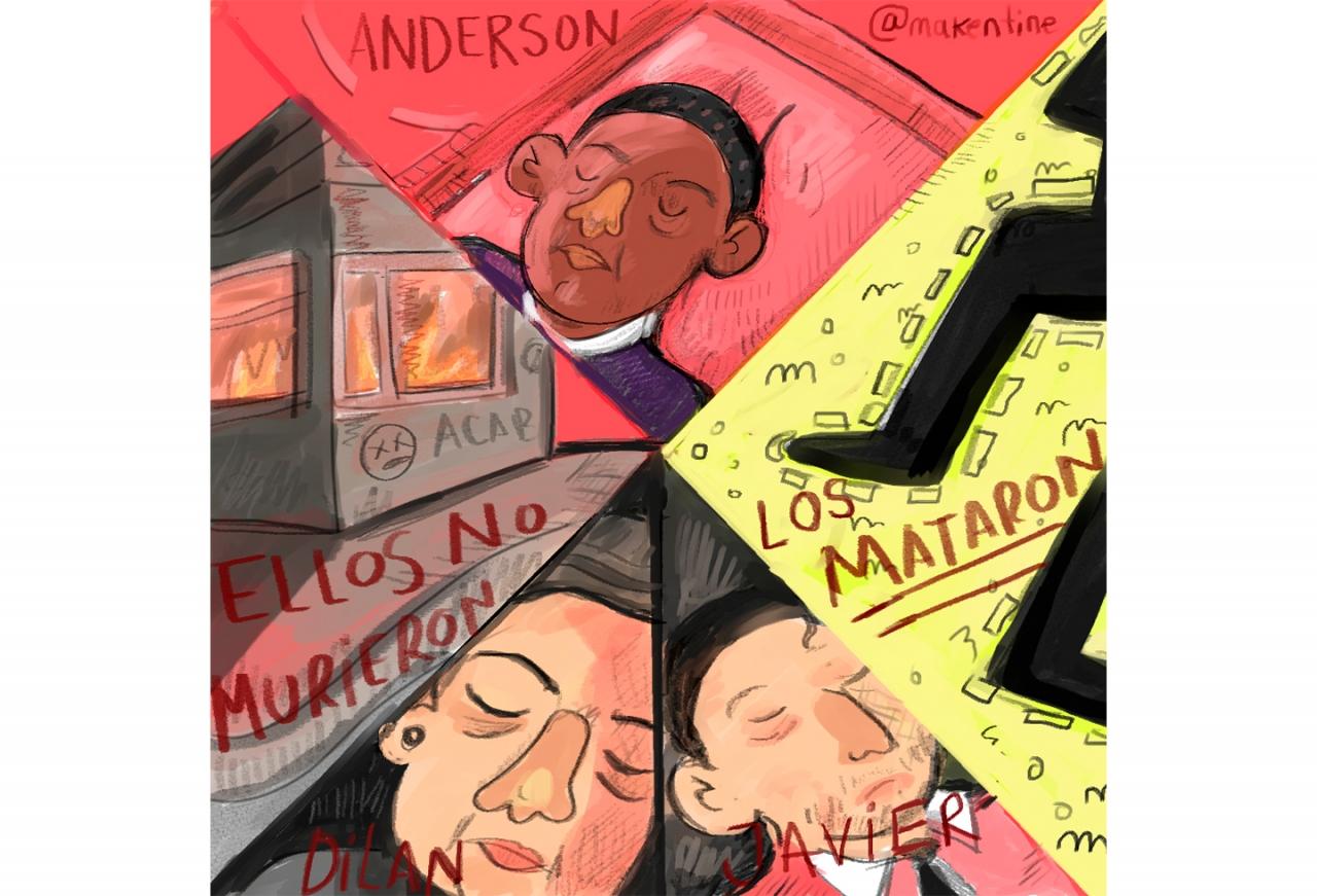 In Memoriam, rechazamos la violencia del Estado contra los jóvenes colombianos