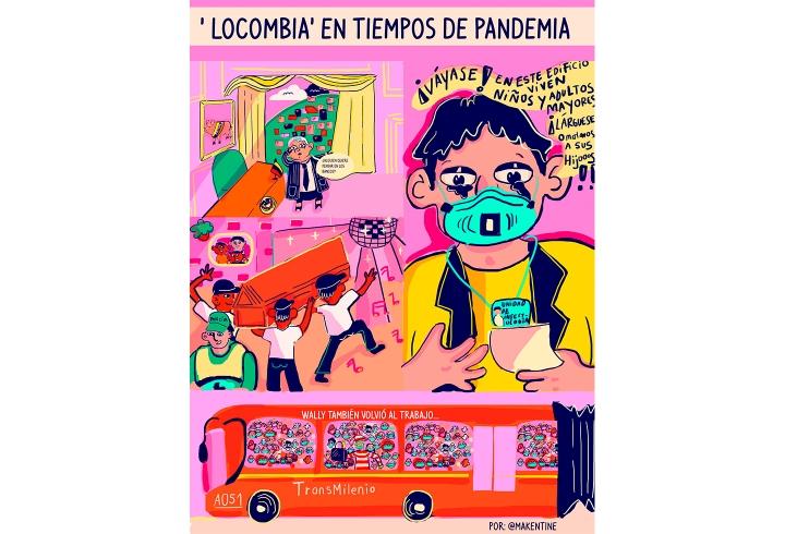'Locombia' en tiempos de pandemia