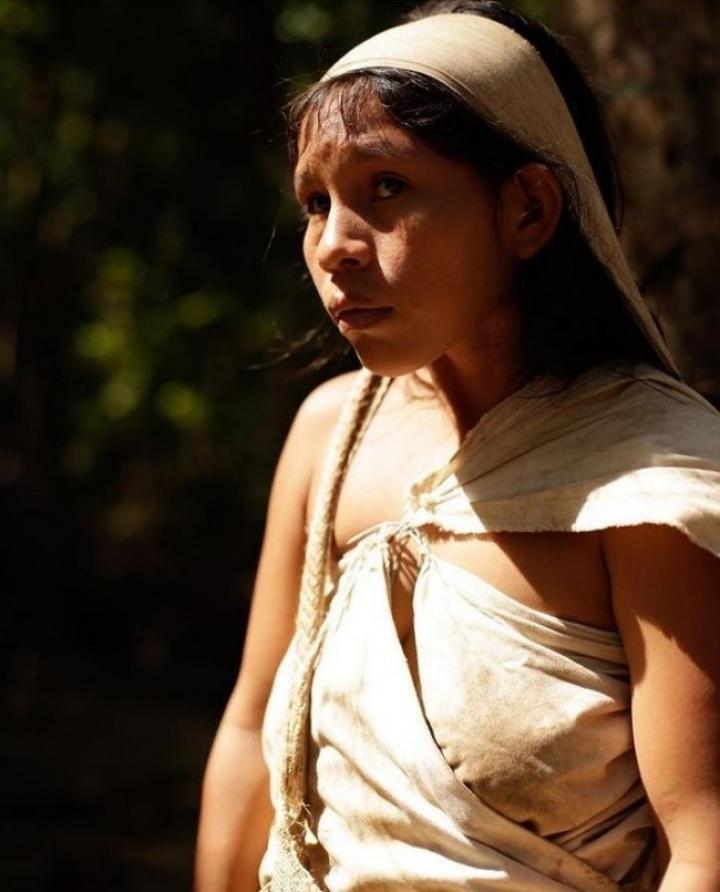 Mujer indígena del Parque Tayrona (Colombia,2018)