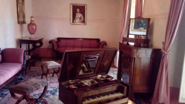 Salón Manuelita en la Casa-Museo Quinta de Bolívar