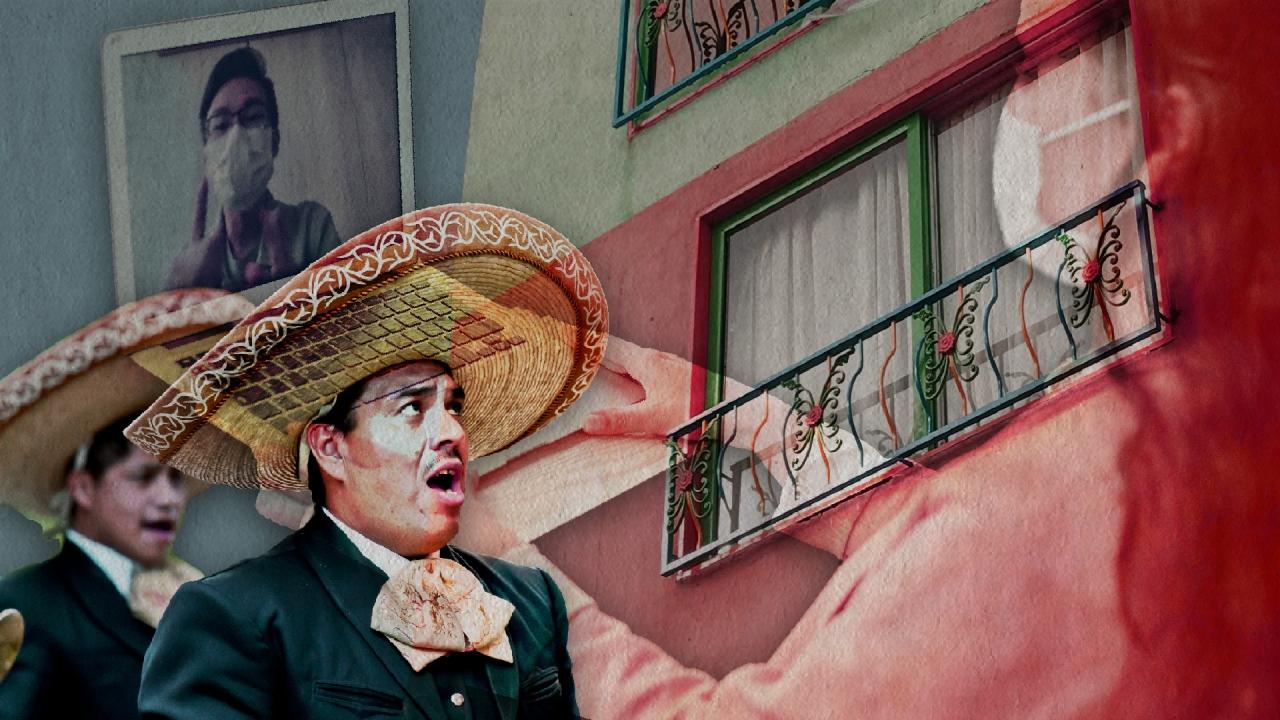 Mariachis en crisis por cuarentena en Bogotá