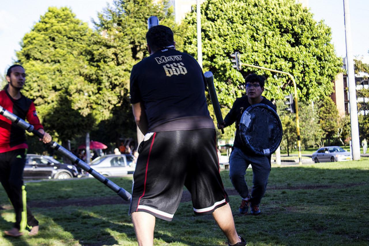 Danse Macabre: ¿cómo es pertenecer a un equipo de Jugger?