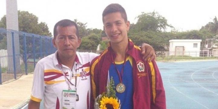Alan Bayona era subcampeón nacional de atletismo