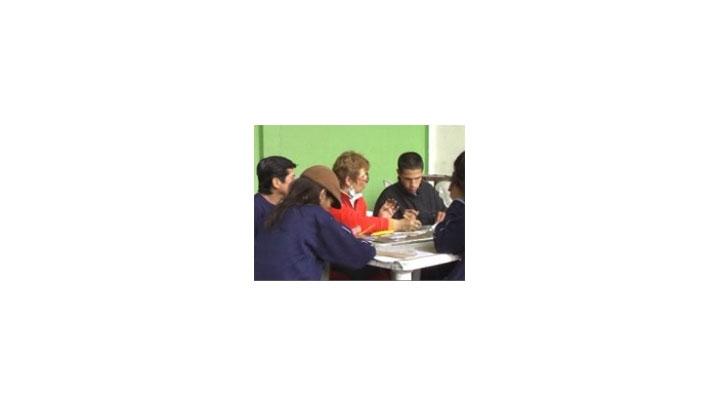 En los hogares de paso se realizan diferentes talleres de capacitación en oficios.