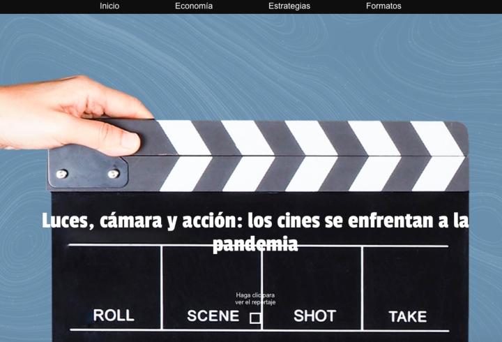 Luces, cámaras, pandemia: crisis en la industria del cine