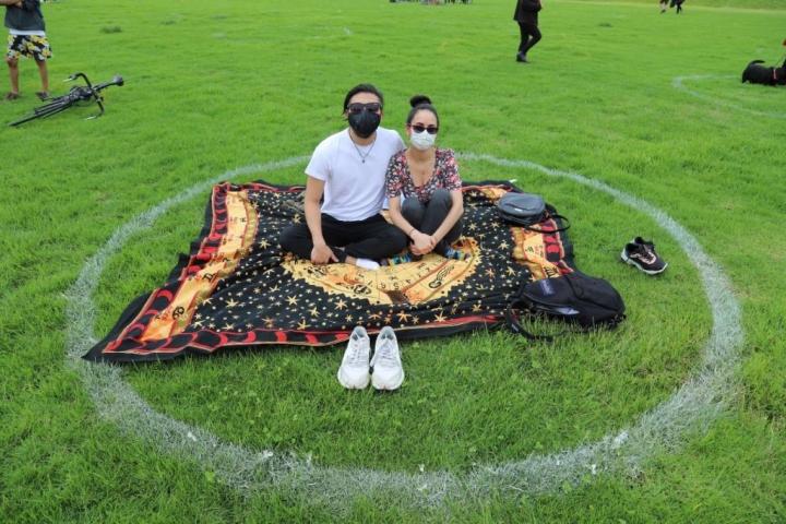 La alcaldía de Bogotá ha promovido y autorizado el uso de espacios al aire libre bajo determinados protocolos de bioseguridad.