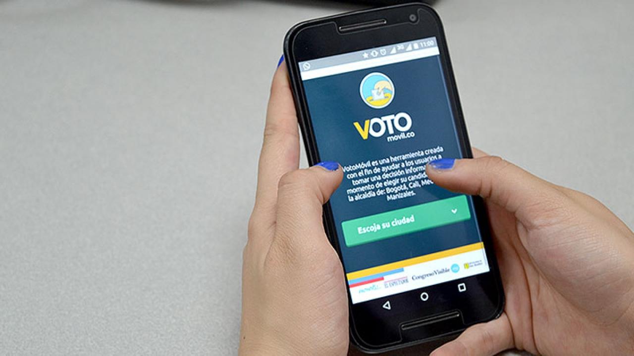 Aplicaciones para tener en cuenta antes de votar