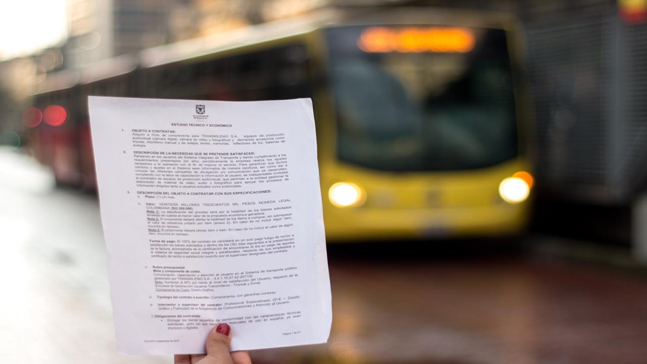 TransMilenio: no todo el dinero es para buses