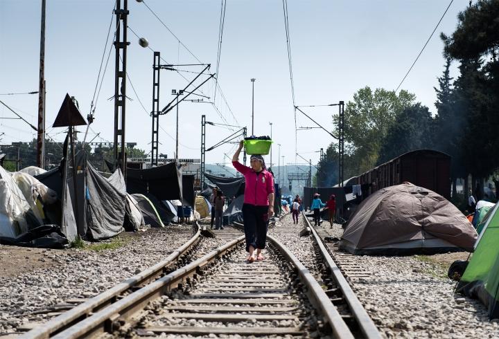 Campo de refugiados de Idomeni (2016)
