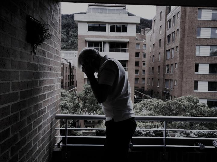 La angustia, la depresión, la soledad, han marcado esta cuarentena. David Bernal
