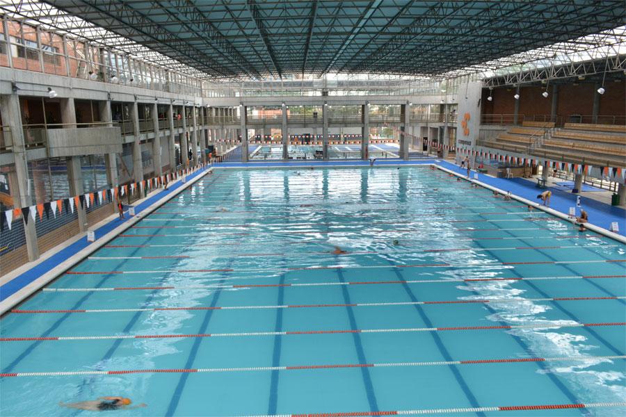 Un paseo por las piscinas ol mpicas de bogot for Metros piscina olimpica