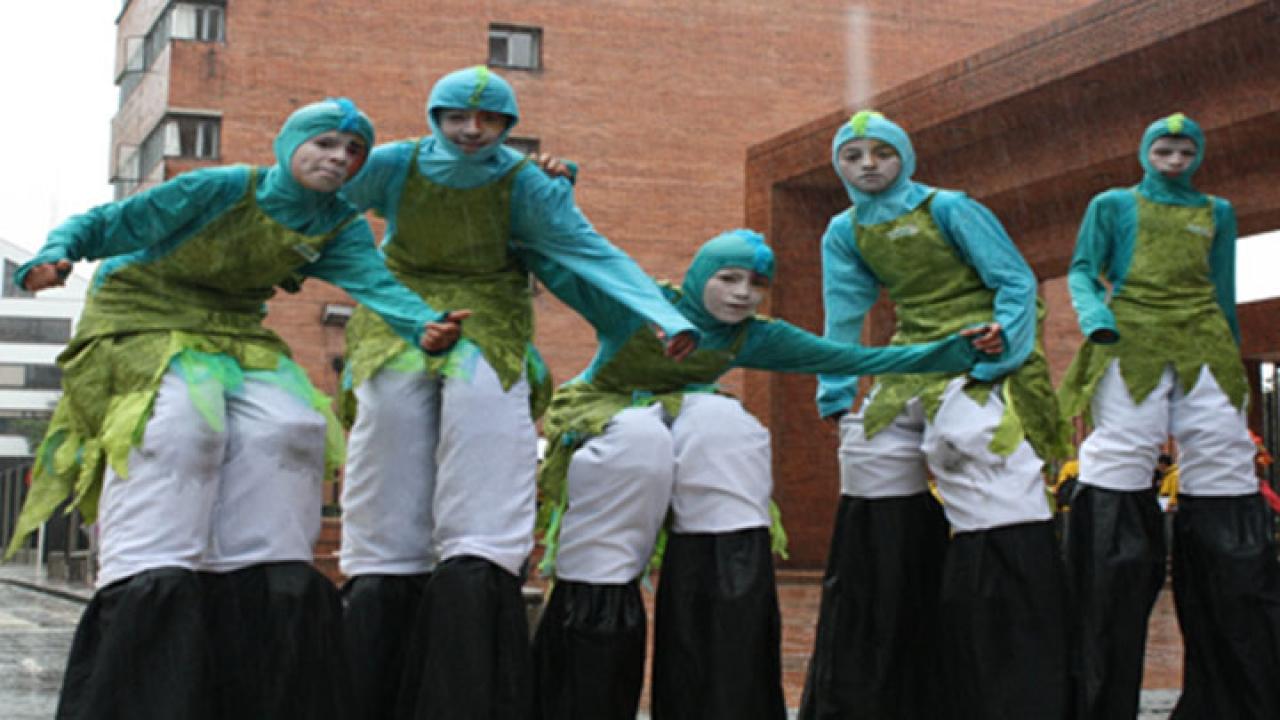 Más de 1500 niños participaron del desfile Bogotá capital de la diversidad