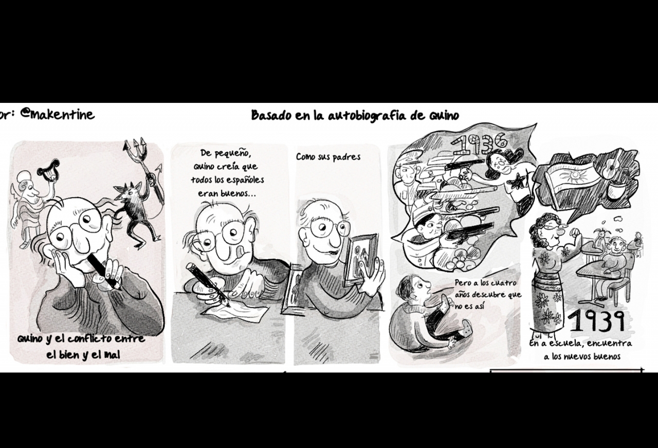 Quino, la autobiografía del papá de Mafalda